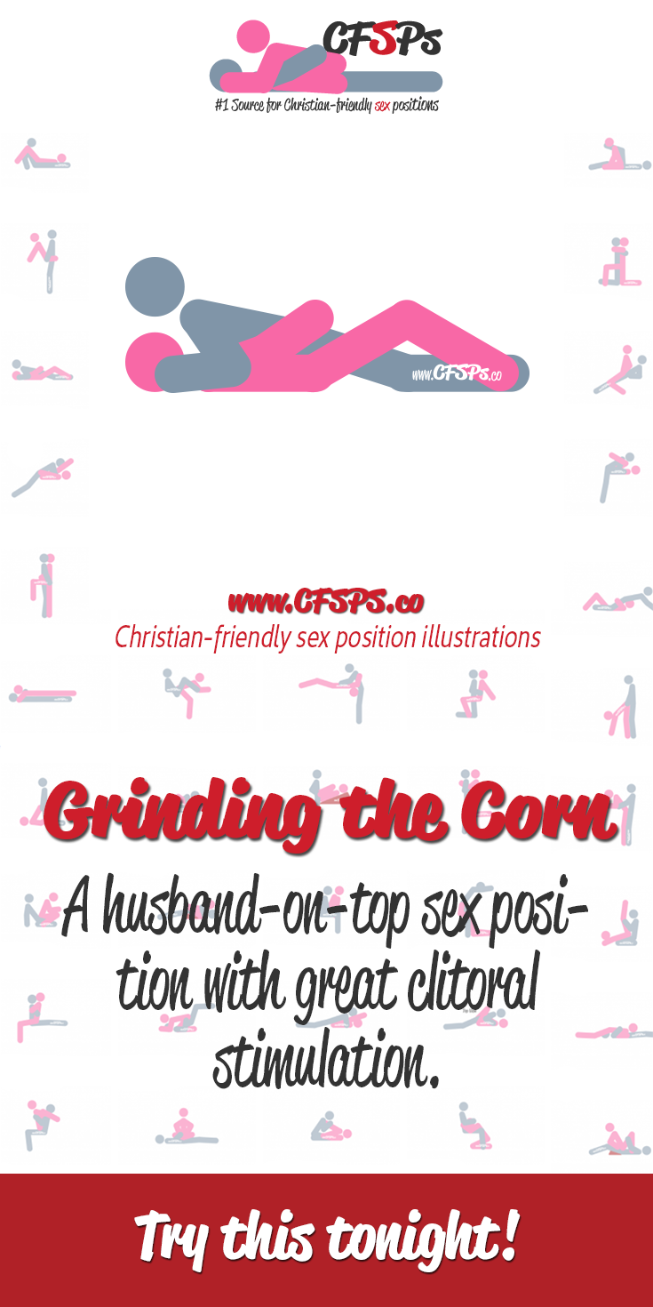 Grinding the corn sex positiion