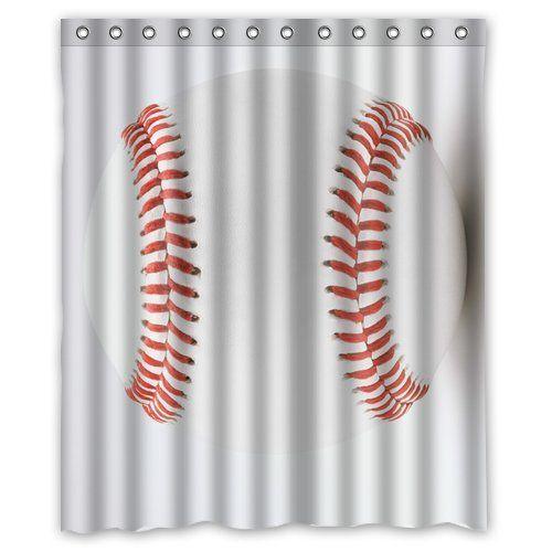 Baseball Themed Bathroom For Kids Batter Up Baseball Shower