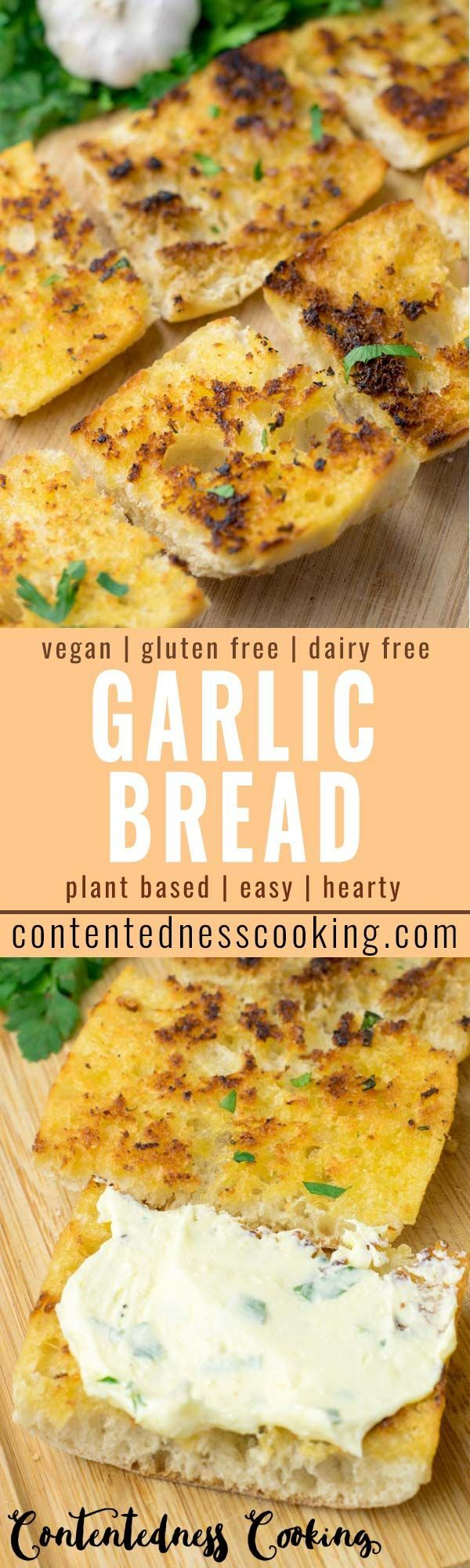 Photo of Garlic Bread Recipe – Contentedness Cooking