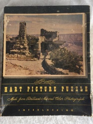 Jigsaw Puzzle Grand Canyon Hart Picture from 1942 ...