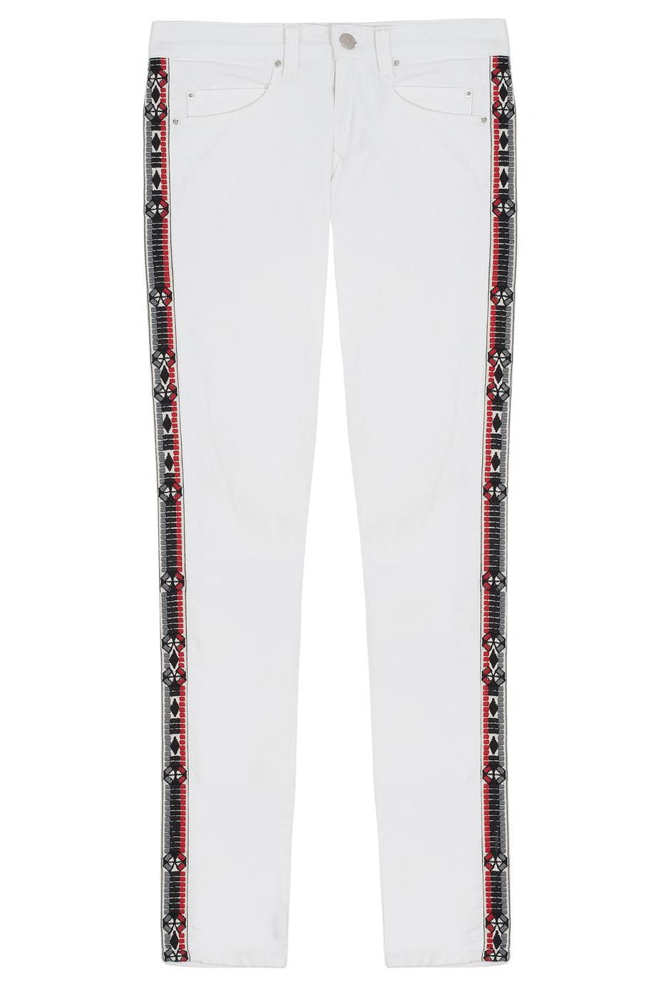 Rialto Embroidered Side Jeans By IRO @ http://www.boutique1.com/