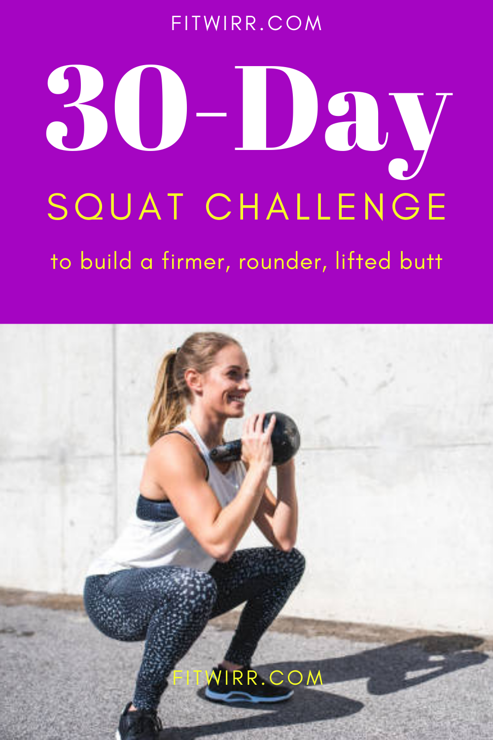 30Day Squat Challenge The Best But Transformation
