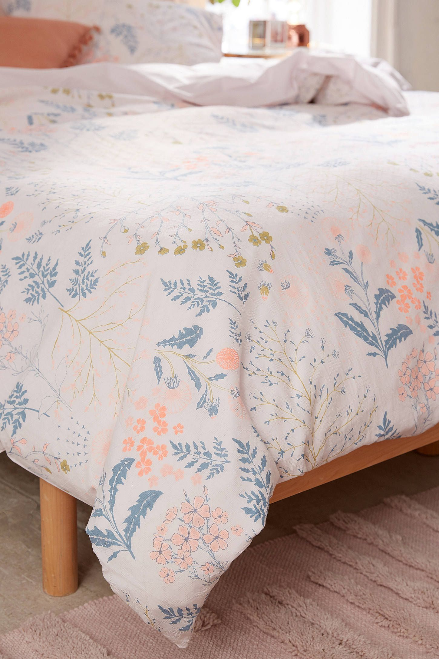 Lillian Floral Duvet Cover