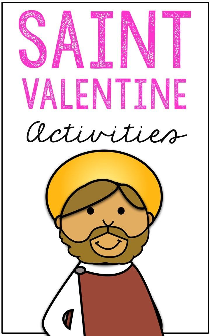 Saint Valentine Journal and Activities - Complete Project Unit ...