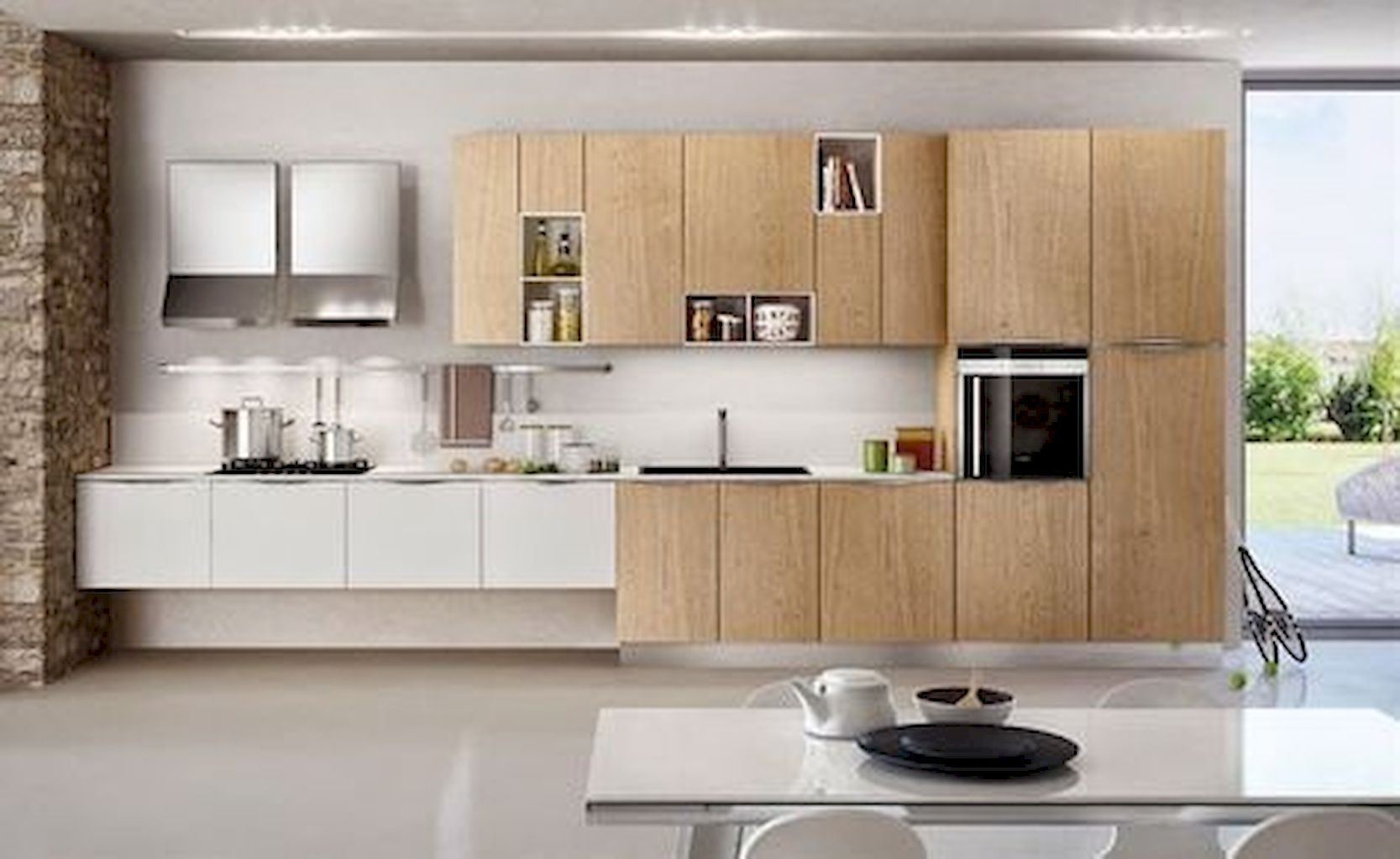 Gorgeous Fabulous Modern Kitchen Sets On Simplicity Efficiency And Elegance Https Homeofpondo Modern Kitchen Set Kitchen Wall Units Italian Kitchen Design