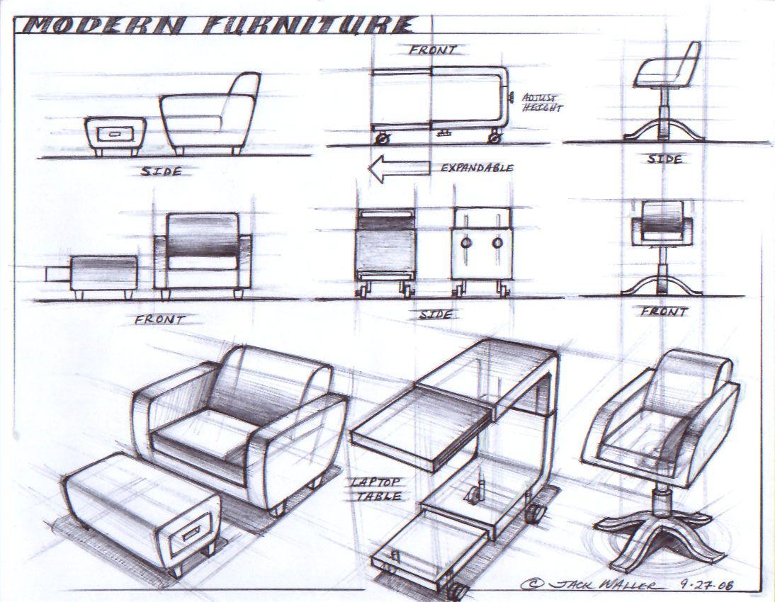 modern furniture design sketches. Brilliant Modern Modern Furniture And Furniture Design Sketches Pinterest