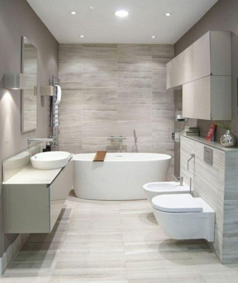 44 Awesome Scandinavian Bathroom Ideas | Casas bonitas, Bonitas y Baño