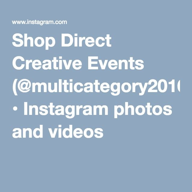 Shop Direct Creative Events (@multicategory2016) • Instagram photos and videos