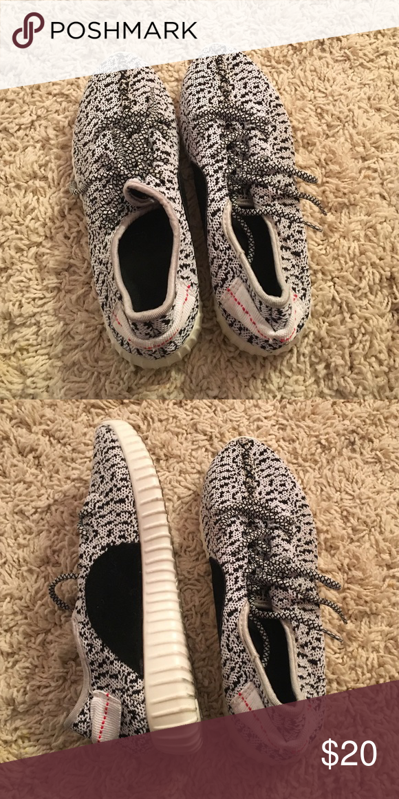 5ca032627db KNOCK OFF Yeezys Worn once. Yeezy Shoes Sneakers
