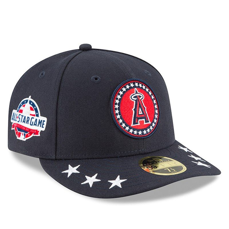 uk availability 610d3 35af5 ... spain los angeles angels new era 2018 mlb all star workout on field low  profile 59fifty