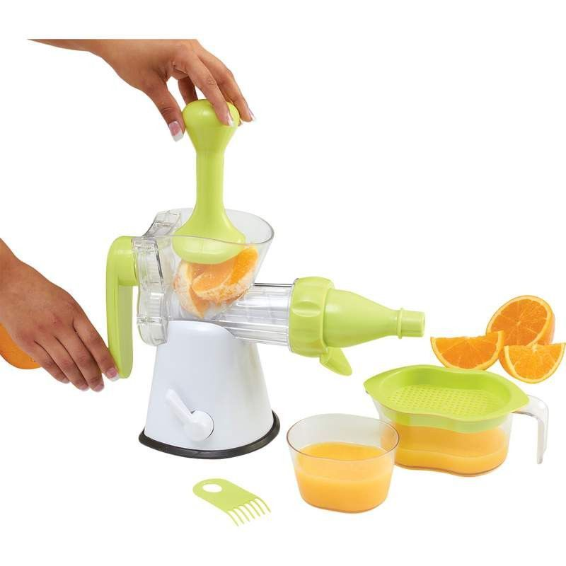 Hand Crank Kitchen Appliances: HAND CRANK MASTICATING JUICER