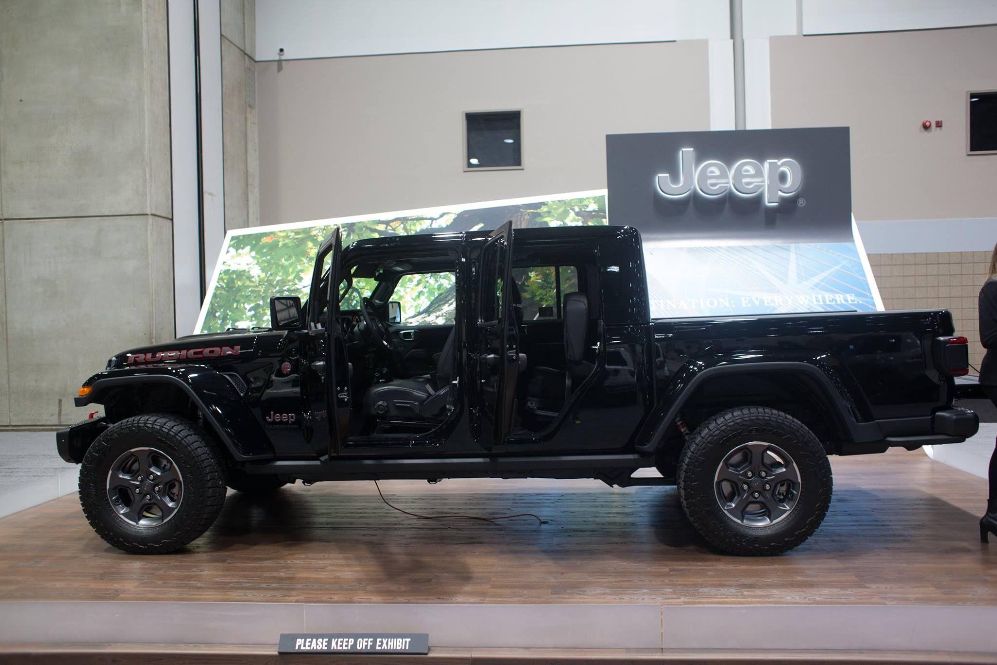Jeep Gladiator Kcautoshow Jeep Gladiator Jeep 4x4 Trucks