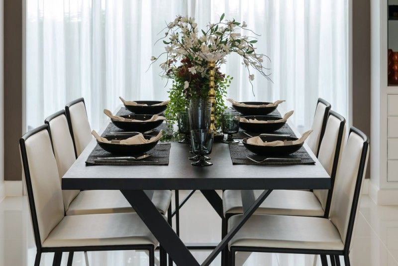 27 Modern Dining Table Setting Ideas Dining Table Modern Dining Table Table Settings
