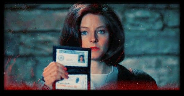 Jodie Foster as Clarice...