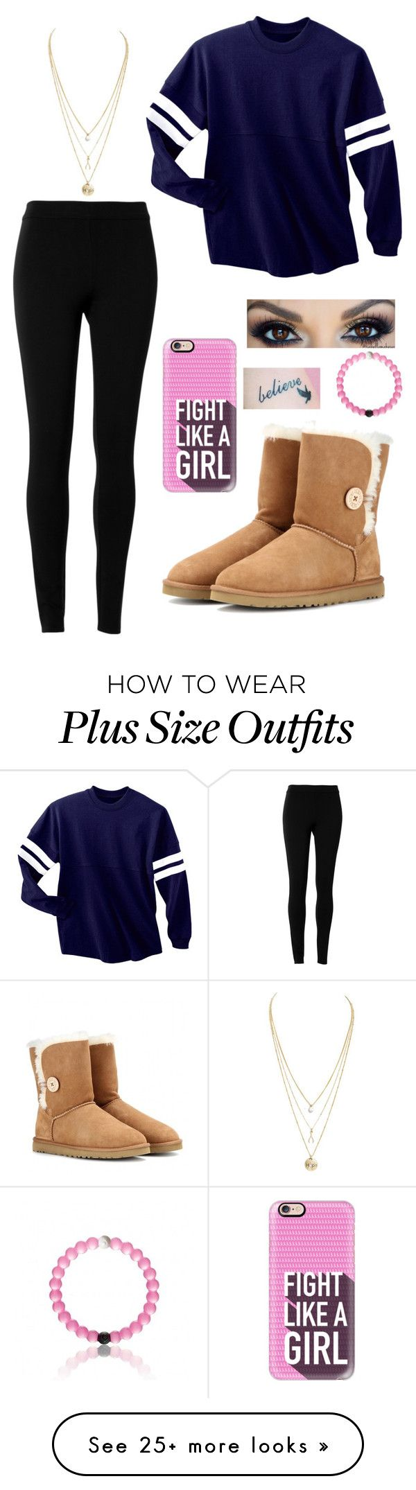 by lia-celeste on Polyvore featuring Max Studio, UGG Australia and Casetify