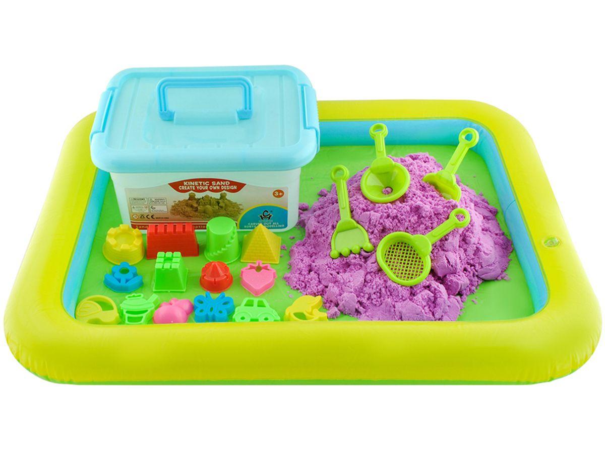 Piasek Kinetyczny 2kg Kuweta Basen Piaskownica 7037369506 Oficjalne Archiwum Allegro Lunch Box Kids