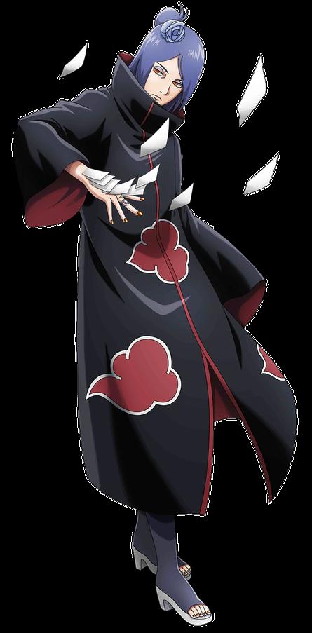 Freetoedit Naruto Shippuden Konan Akatsuki Picsart Remixit Anime Akatsuki Konan Wallpaper Naruto Shippuden