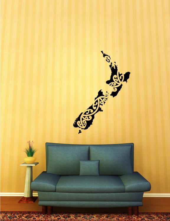 Kiwiana Aotearoa New Zealand Grafix Wall Art For The - Wall decals nzkiwiana decals