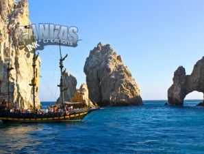 This Pirate Ship Is A Booze Cruise In Cabo San Lucas Favorite - Pirate ship booze cruise