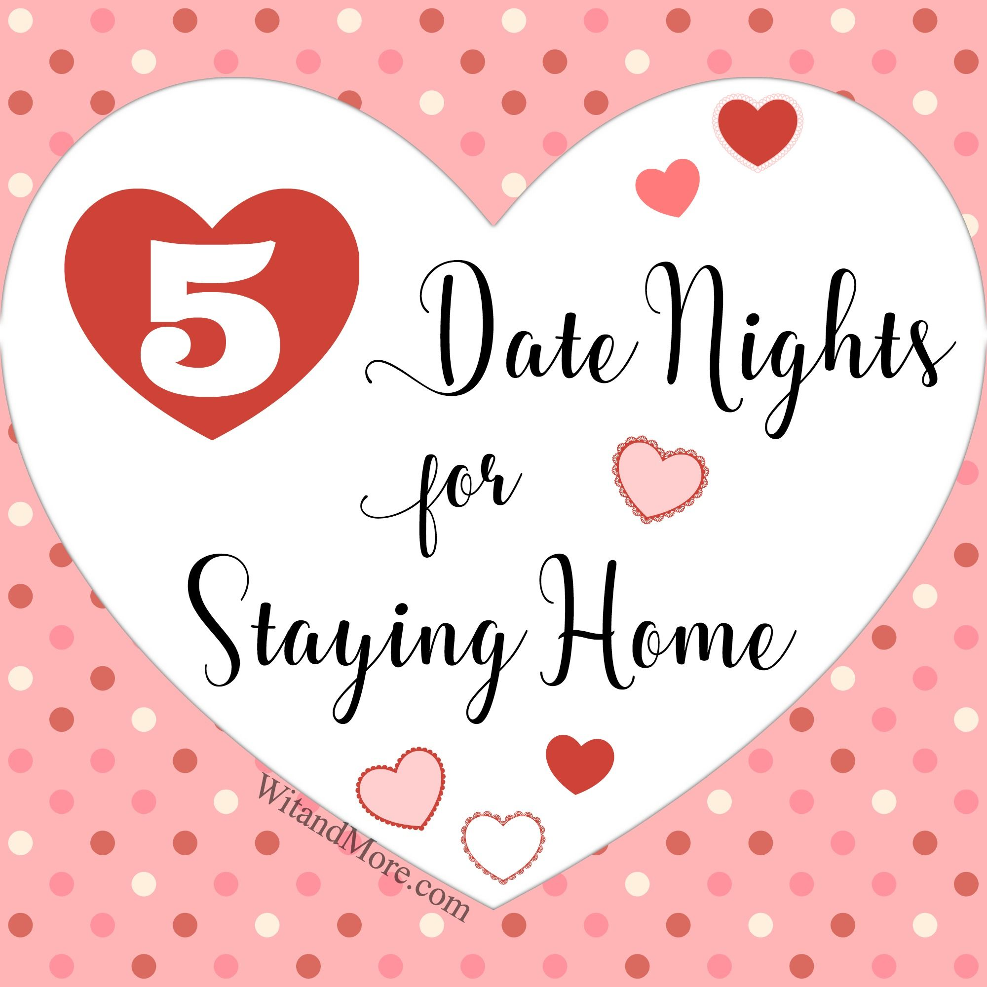 Five Stay Home Dates for Valentine\'s Day (or any other day ...
