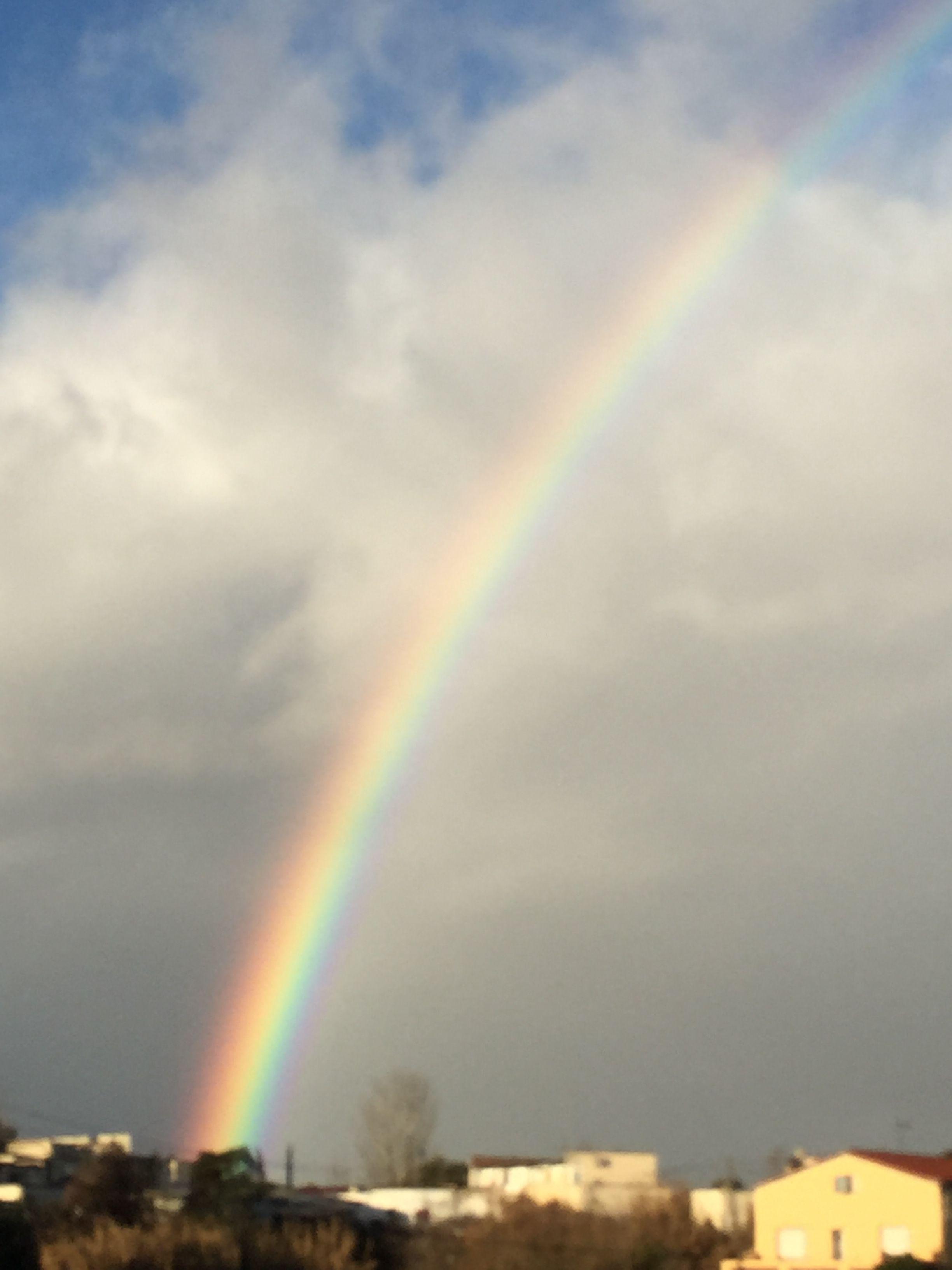 Arco Iris. Desde mi ventana