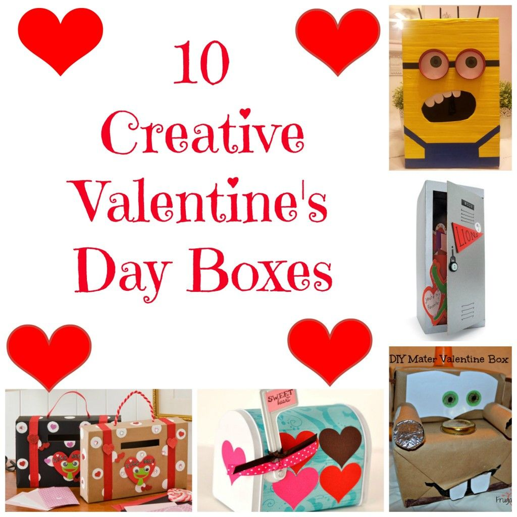Valentine\'s Day Box Ideas for Kids to Make | Creative, Box and Holidays