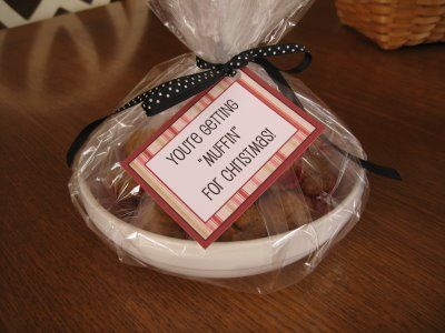 Youre getting muffin for christmas thank you gifts childrens youre getting muffin for christmas diy solutioingenieria Image collections