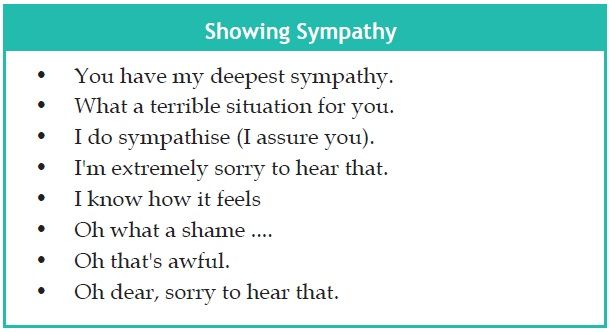 Expressing Condolence in English Learning English text types - condolence template