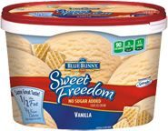 Sweet Freedom®  Ice Cream  Vanilla   Three points for 1/2 cup