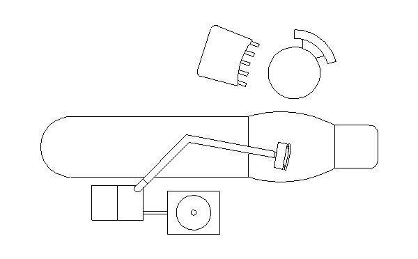 Arquivos odontol gicos bloco autocad cadeira dentista - Planos de clinicas dentales ...