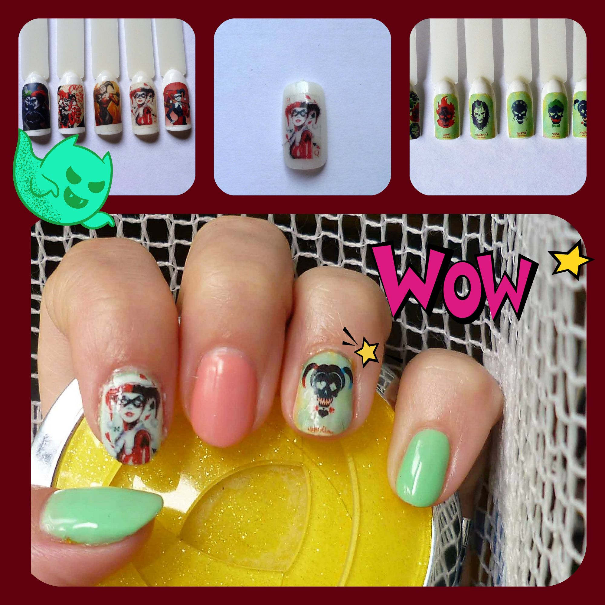 Happy Halloween with our nail stickers!   Social Connect- Etsy Promo ...