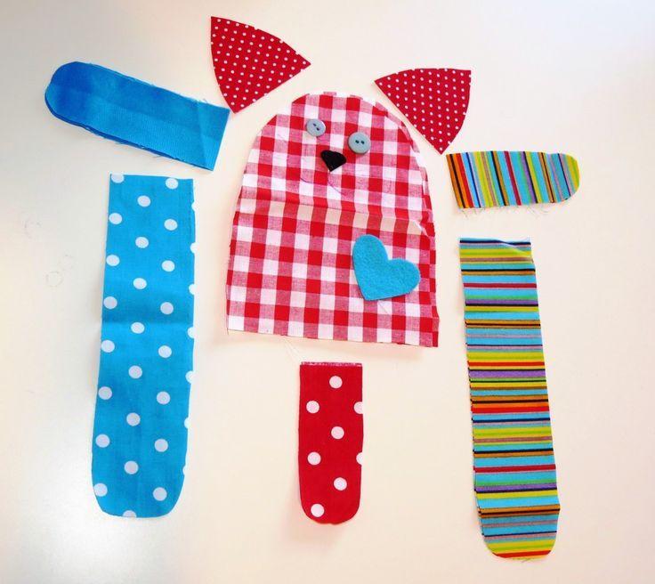15 Spaß und einfache Nähprojekte für Kinder - Stoffhandwerk #sewtoys