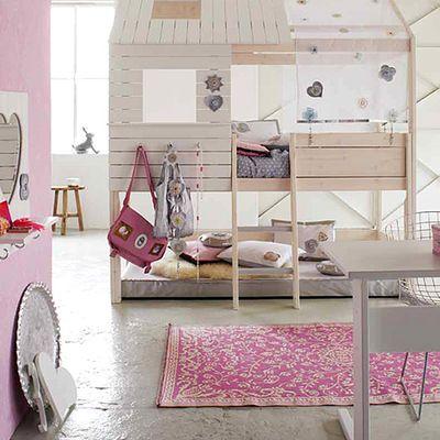 Literas cabaña #habitación #litera #dormitorio #niños