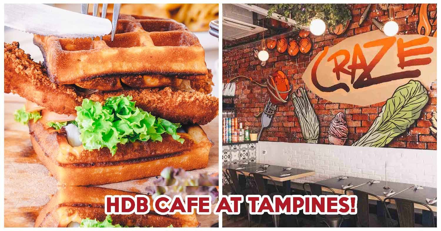 Check Out Craze Kitchen At Tampines Just Like Most Asian People Carbs Are A Staple Part Of My Diet I Love How The Western Food Halal Recipes Food Places