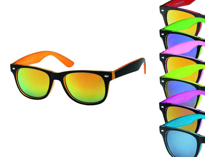 ray ban couleur flashy