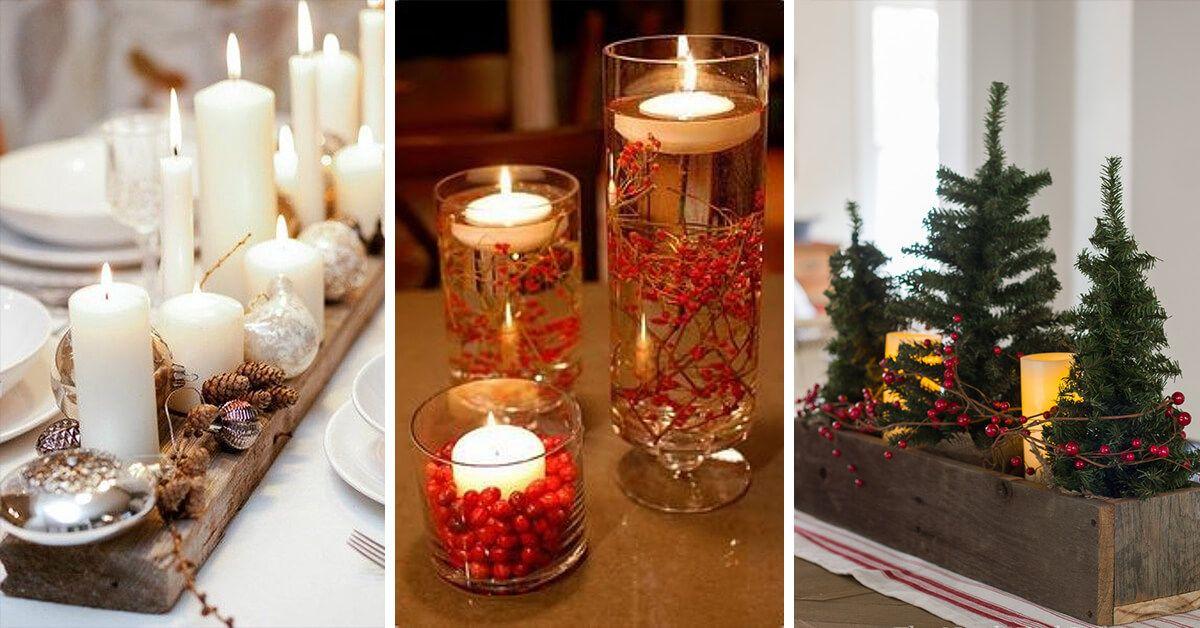 28 Fabulous DIY Christmas Centerpieces that Anyone