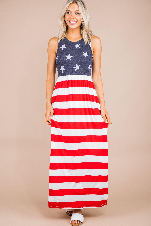 America The Bold Red Striped Maxi Dress Maxi Dress Dresses Striped Maxi [ 3000 x 2000 Pixel ]