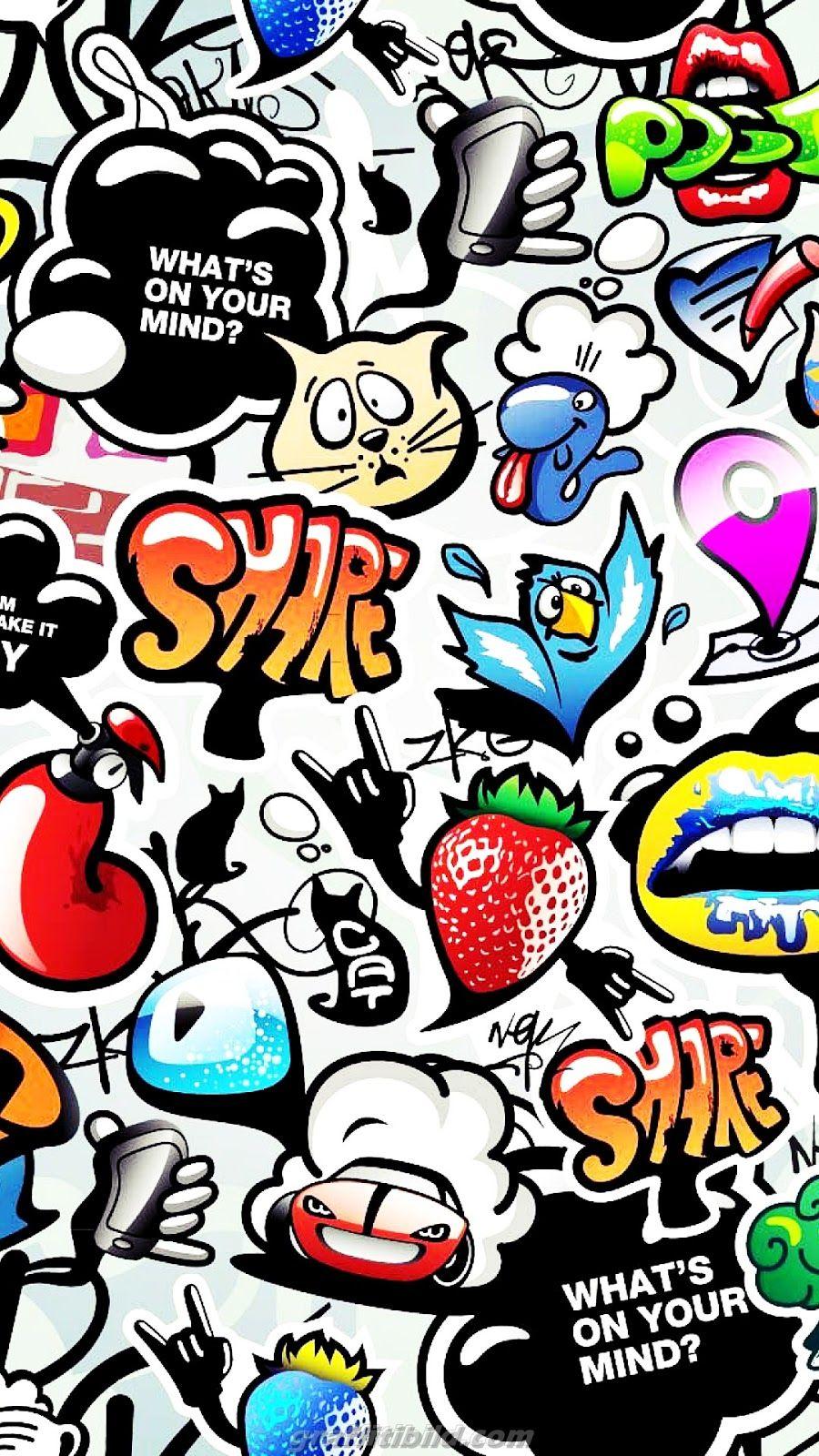 Pin On Graffiti Wallpaper