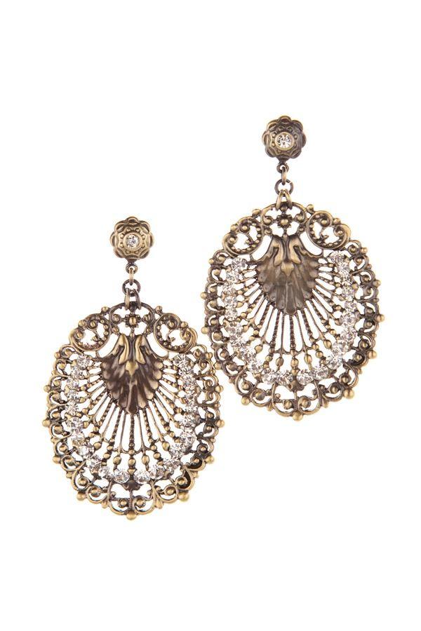 Flamenco Fan Earrings. | Jewelry Jubilee | Earrings ...