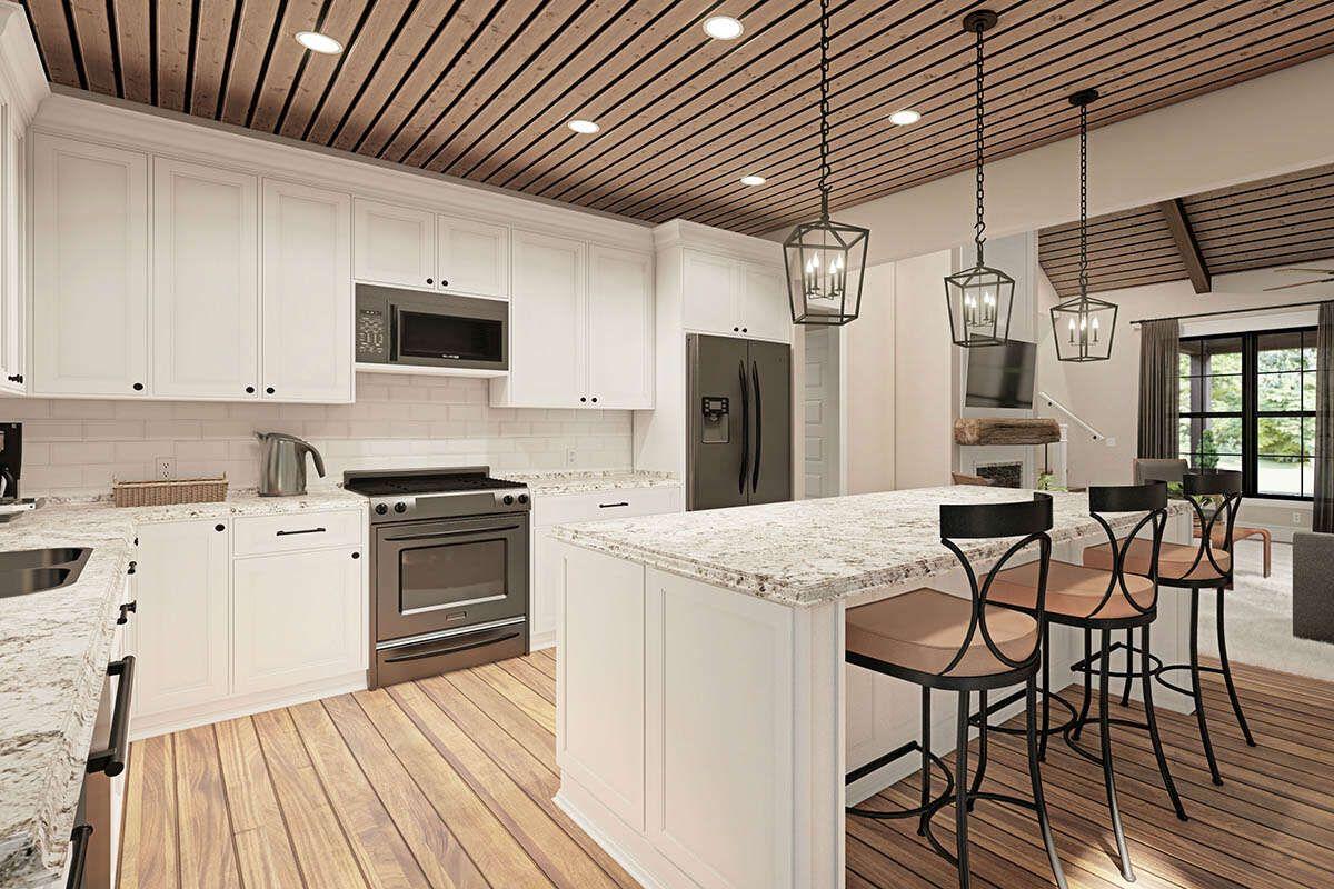 House plan 00900294 modern farmhouse plan 2102 square