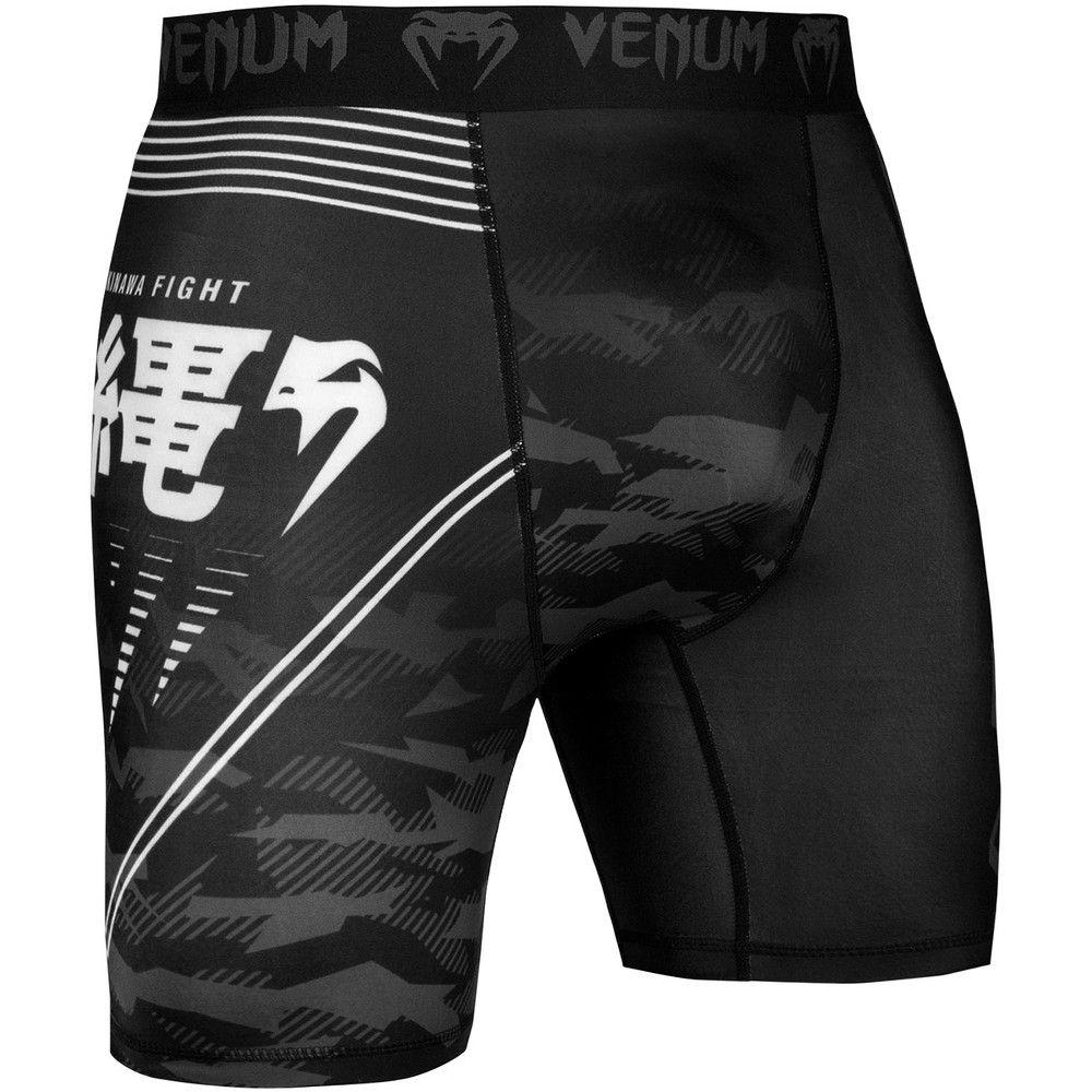 Venum Okinawa 2 0 Compression Shorts 2xl Black White In 2020 Compression Shorts Mma Shorts Shorts With Tights