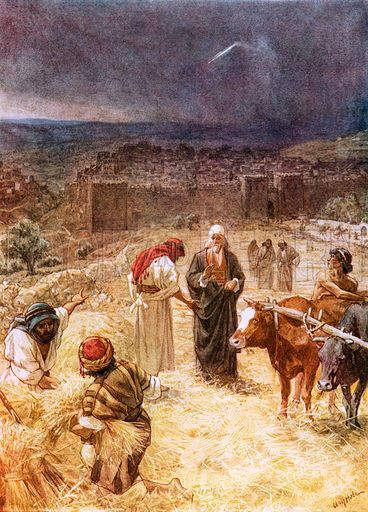 King David Purchasing The Threshing Floor Of Araunah