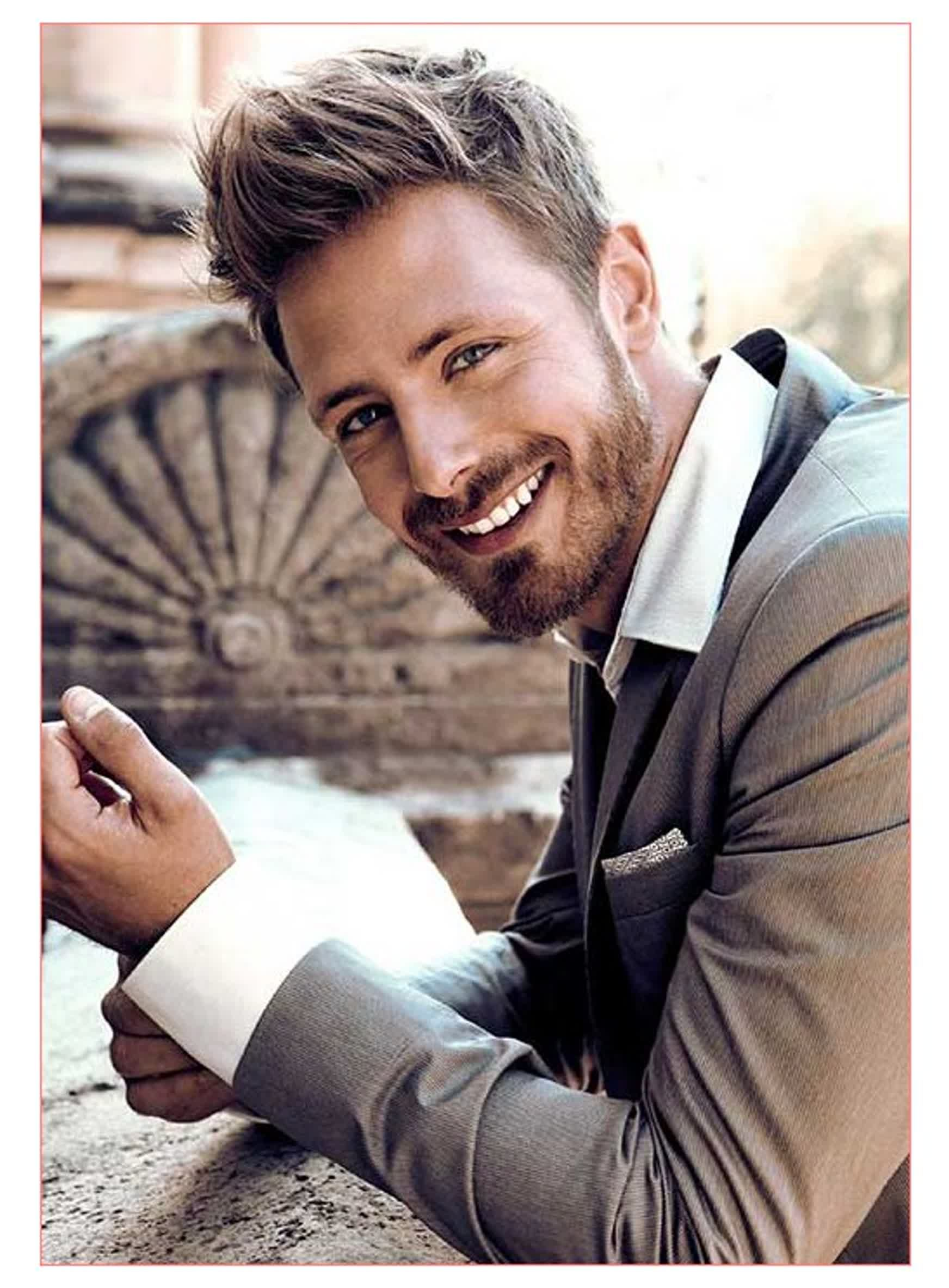 Images Of Men Haircuts With Cute Light Brown Hair For Men All In