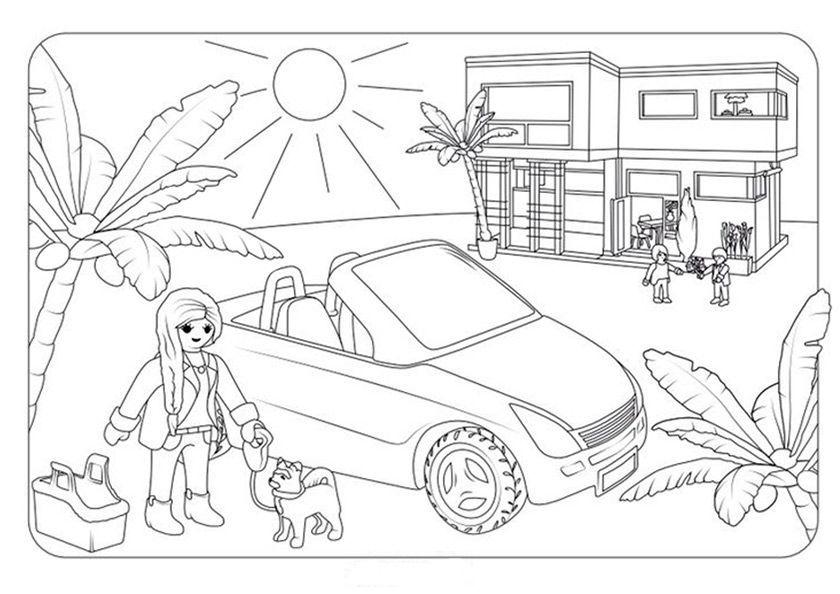 ausmalbilder playmobil indianer  bilder ausmalen