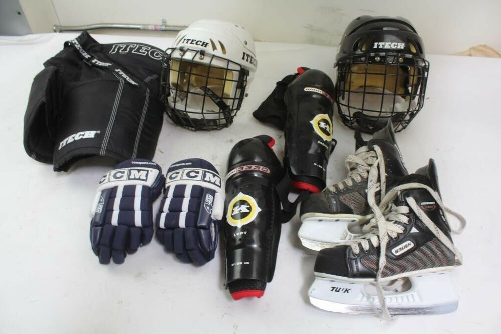Advertisement Ebay Jofa Hockey Bag W Youth Ice Hockey Equipment Helmet Gloves Shin Guard More Hockey Equipment Bag Sale Hockey Bag