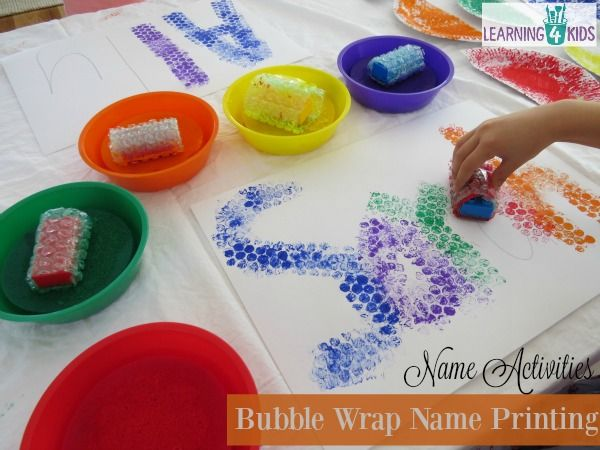 list of simple and fun name activities