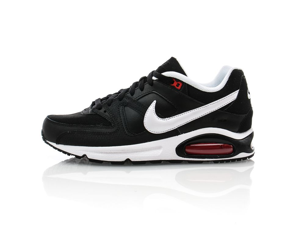 buy popular 876b0 24dd8 Nike - Air Max Command Leather   Sneakers   Svart Vit   Sportamore.se