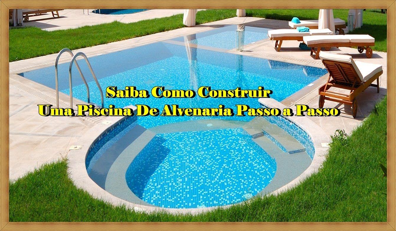 piscinas como construir - Como Construir Una Piscina