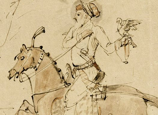Art Collector: 15 Drawings by Rembrandt Harmenszoon Van Rijn, Mughal from miniatures