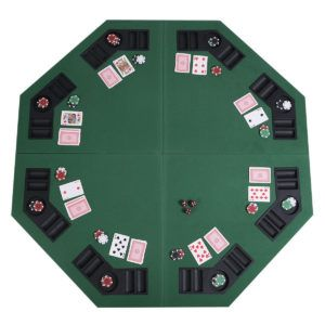 Folding octagon poker table top httphaloreachstrategyguidefo folding octagon poker table top watchthetrailerfo